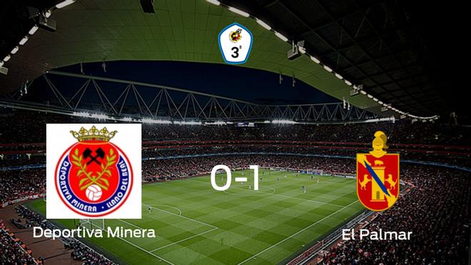 El Palmar vence 0-1 en casa de la Deportiva Minera