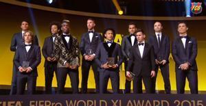 Cuatro blaugranas en el once de la FIFA