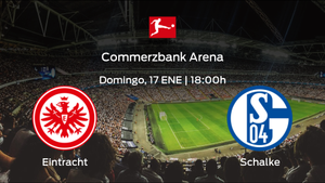 Jornada 16 de la Bundesliga: previa del encuentro Eintracht Frankfurt - Schalke 04