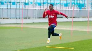 Sesión de recuperación para un Barcelona que ya piensa en el Valencia