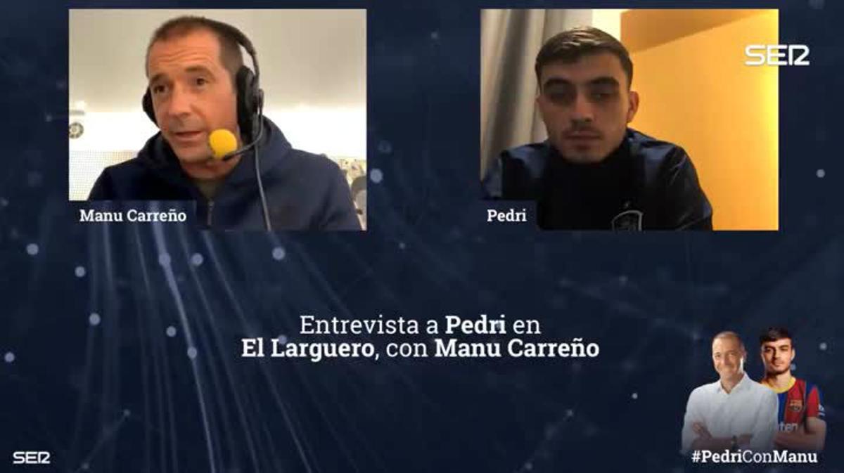 Pedri: Al Madrid le doy las gracias por no ficharme; ahora estoy donde quería estar