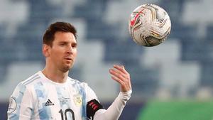 Leo Messi está actualmente jugando la Copa América en Brasil con la selección de su país