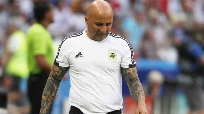Jorge Sampaoli, seleccionador de Argentina