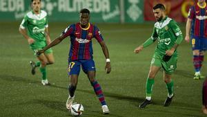 Ilaix, tras debutar con el Barça en Cornellà: Hoy casi no he podido dormir
