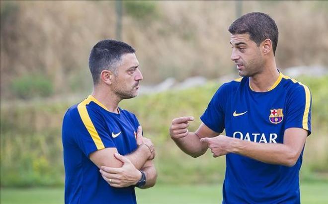 Gerard y Altimira llevarán el Barcelona B