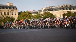 Imagen de archivo del pasado Tour de Francia