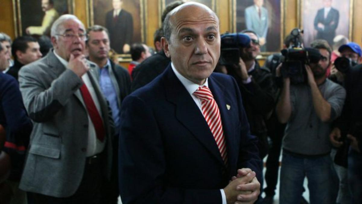 José María del Nido, expresidente del Sevilla