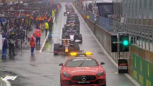 El fiasco total del GP de Bélgica por la lluvia