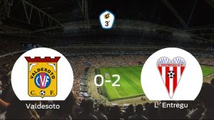 El LEntregu consigue los tres puntos después de vencer 0-2 al Valdesoto