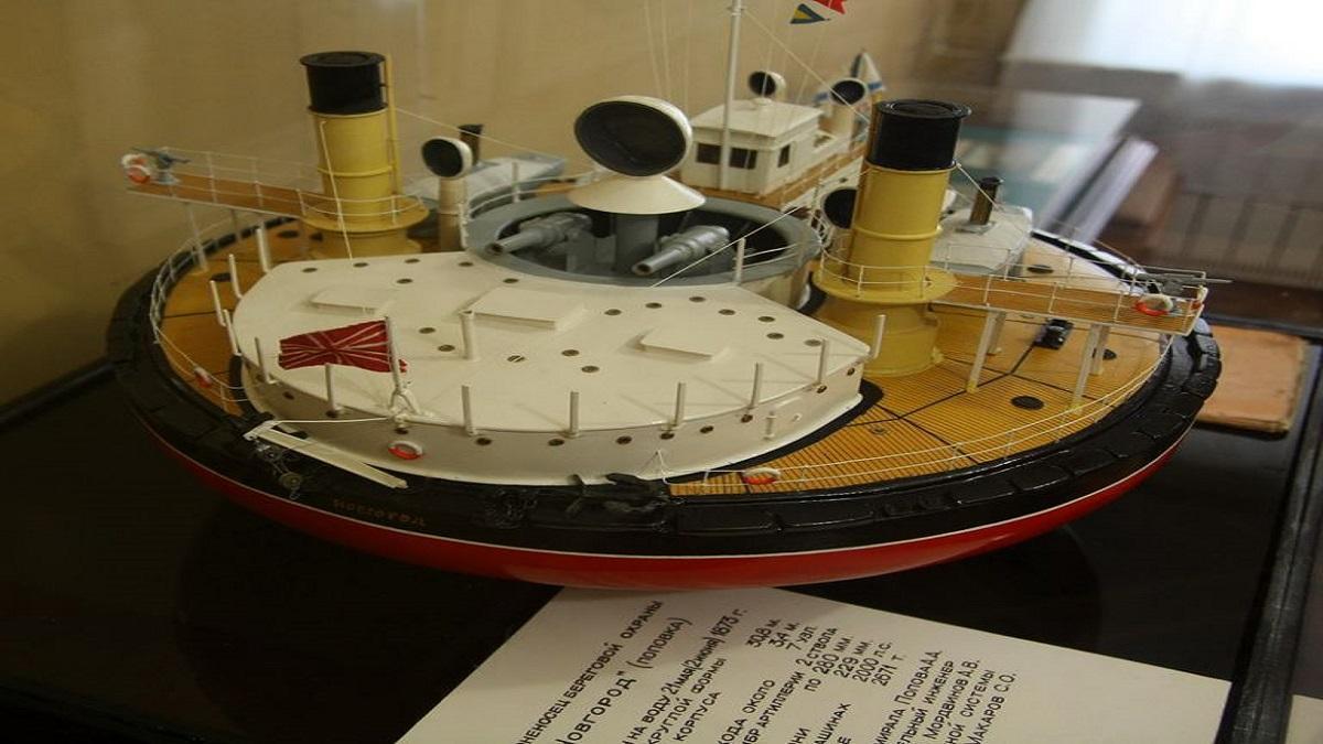 Rusia construyó un barco en forma de frisbee a finales del siglo XIX