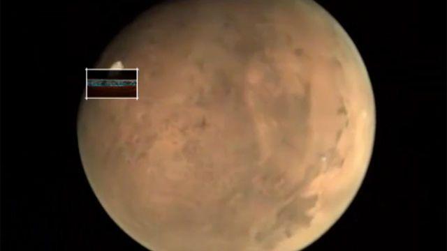 Los polos de Marte se mueven sorprendentemente