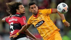 El Flamengo y el Barcelona deciden quién será el segundo finalista