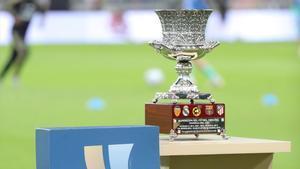 Imagen del trofeo de la Supercopa de España de 2020