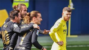 Griezmann marcó ante el Villarreal