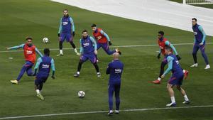 Sigue en directo el entrenamiento del Barça antes de visitar al Cornellà