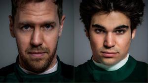 Vettel y Stroll, tandem de Aston Martin en 2021
