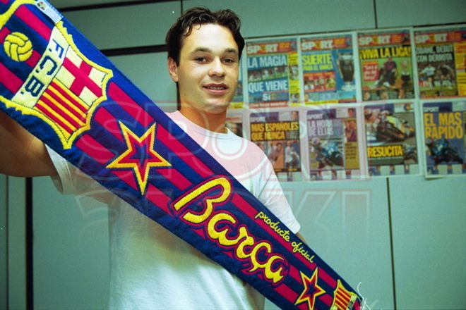 21. Andrés Iniesta 2001-02