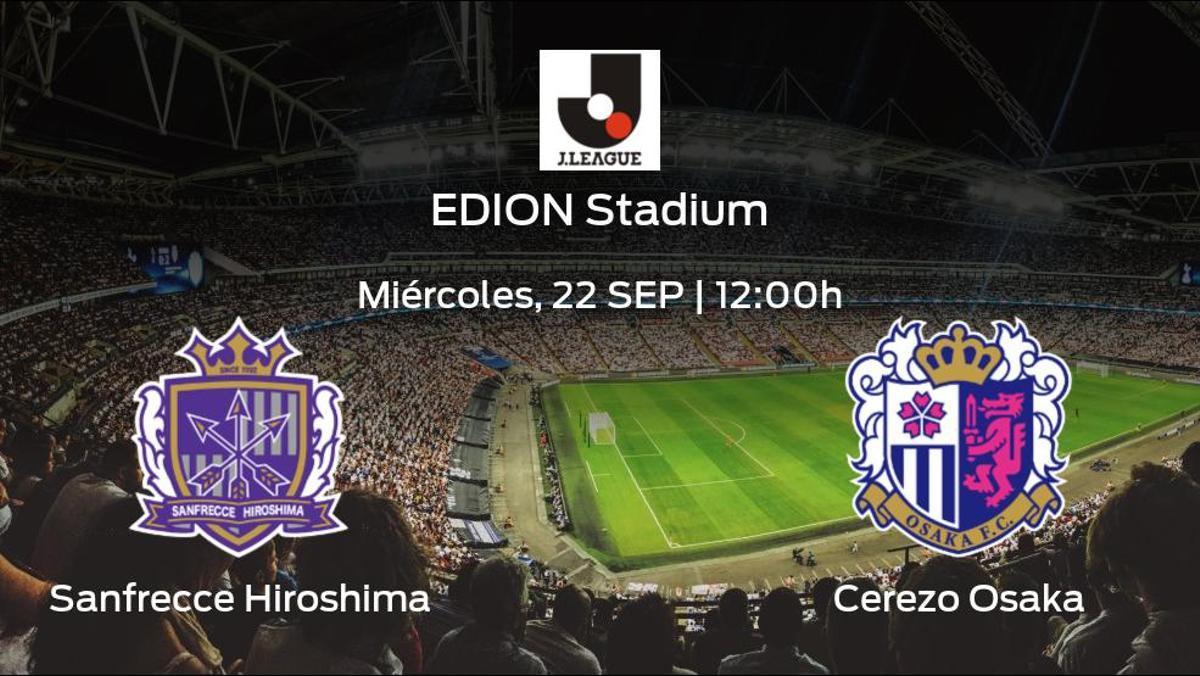 Previa del partido de la jornada 32: Sanfrecce Hiroshima - Cerezo Osaka