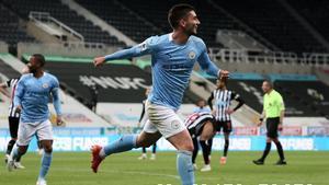 Ferran Torres marcó un hat-trick en Newcastle