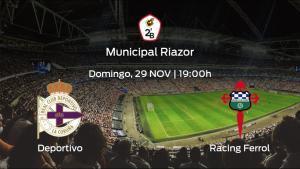 Jornada 6 de la Segunda División B: previa del encuentro Deportivo - Racing Ferrol