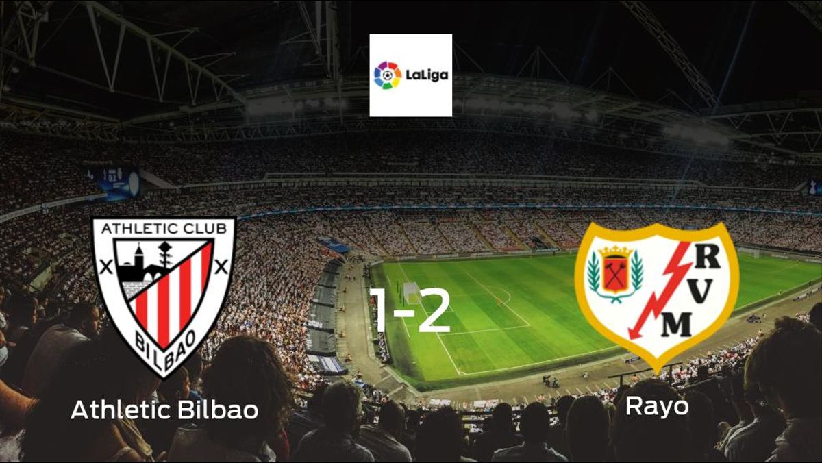 Rayo travel to secure all 3 points in 2-1 victory against Athletic Bilbao