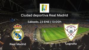 Previa del encuentro de la jornada 16: Real Madrid Femenino - Logroño Femenino