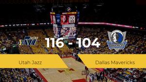 Utah Jazz consigue la victoria frente a Dallas Mavericks por 116-104