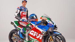 Àlex Márquez son su moto para este 2021