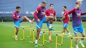 El Barça regresa a los entrenamientos tras el empate ante el Granada y pensando en el Cádiz