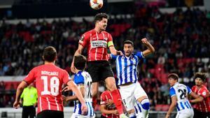 La Real Sociedad empata ante el PSV con un final de infarto