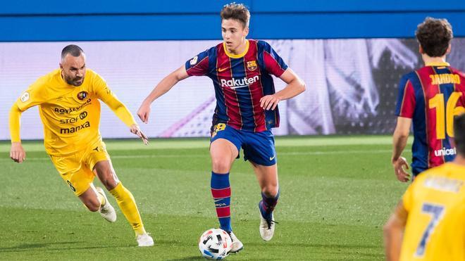 Nico González, convocado con la sub-19