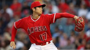 Shohei Ohtani, de Los Angeles Angels