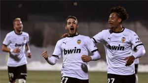 El resumen de la victoria del Valencia en Alcorcón en la Copa