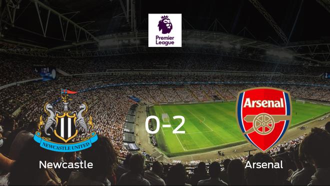 El Arsenal vence 0-2 en el feudo del Newcastle United