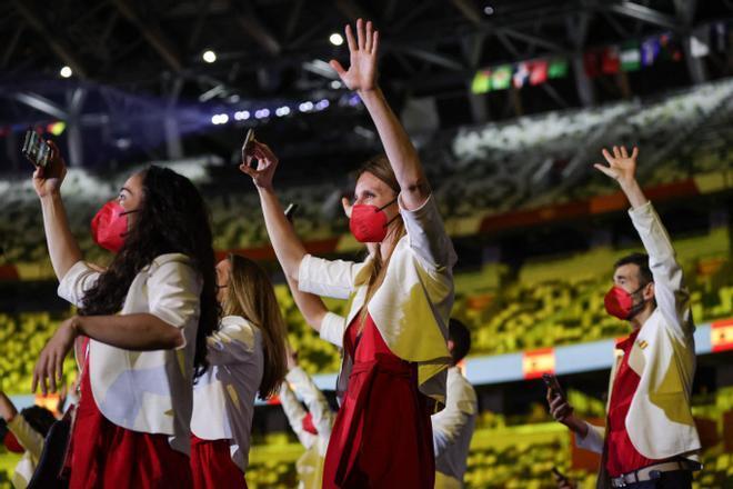 Las imágenes de la apertura de los Juegos Olímpicos de Tokio 2020