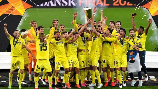 El Villarreal, campeón de la Europa League