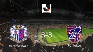 Reparto de puntos entre el Cerezo Osaka y el FC Tokyo (3-3)