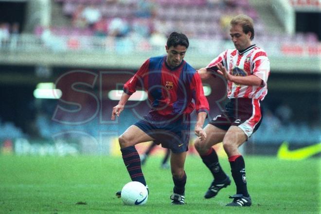 22.Xavi Hernández 1998
