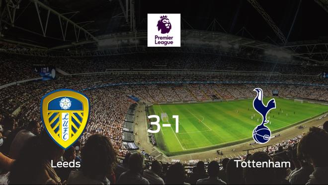 El Leeds United gana 3-1 al Tottenham Hotspur y se lleva los tres puntos