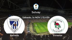 Previa del partido: el Barreda Balompié recibe al CF Vimenor en la quinta jornada