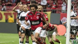 El Flamengo eliminó al Olimpia en los cuartos de final de la Libertadores
