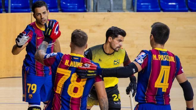 El Barça volvió a arrasar en la segunda parte