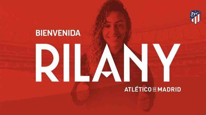 La brasileña Rilany da Silva será jugadora de la entidad colchonera durante los próximos dos años