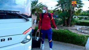 El Barça B ya está en Extremadura