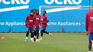 El Barça ultima su preparación para Osasuna