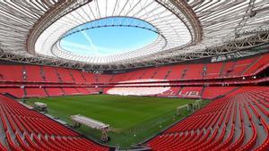San Mamés peligra como sede de la Eurocopa 2021