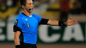 Kevin Ortega, árbitro del Japón-España