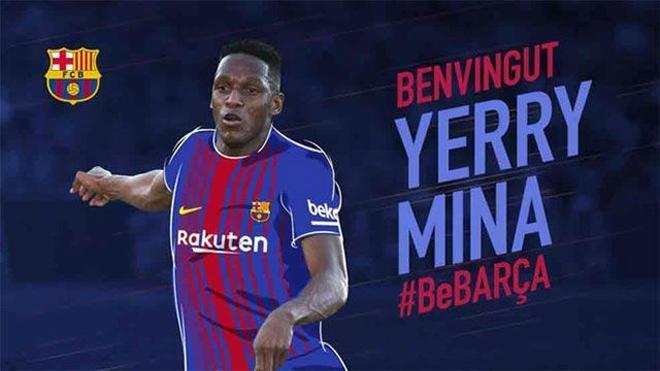 Yerry Mina, nuevo fichaje del FC Barcelona
