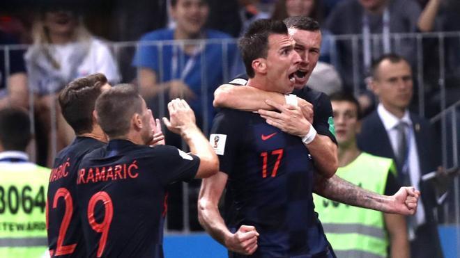 Croacia se encargó de acabar con el sueño inglés en la última Copa del Mundo