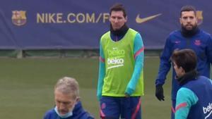 El Barça se prepara para jugar contra el Cornellà en Copa del Rey